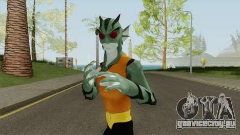 Lagoonboy Skin V3 для GTA San Andreas