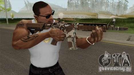 CS-GO M4A4 Desert Storm для GTA San Andreas