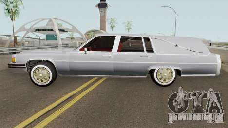 Cadillac Fleetwood Hearse (Romero Style) v1 1985 для GTA San Andreas