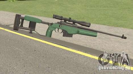 SAKO TRG-42 Sniper Rifle (Green) для GTA San Andreas