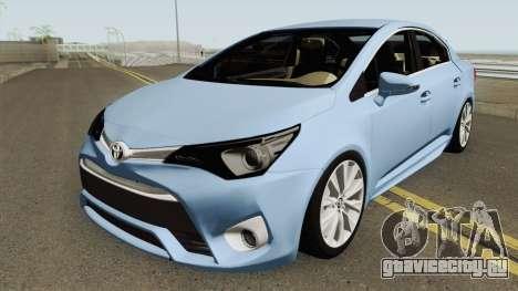 Toyota Avensis 2016 для GTA San Andreas