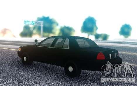 Ford Victoria FBI для GTA San Andreas