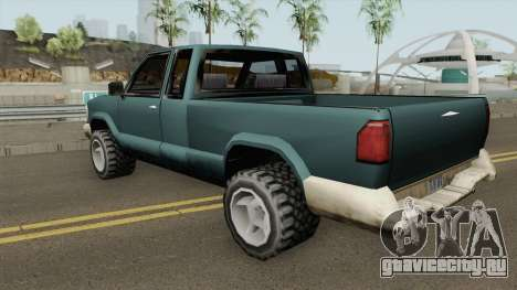 Chevrolet S10 Low Poly Improved Version для GTA San Andreas