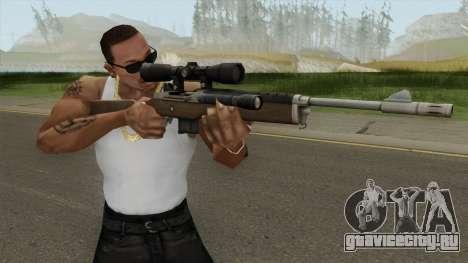 L4D1 Ruger Mini-14 Sniper для GTA San Andreas