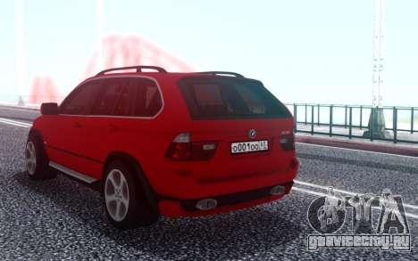 BMW X5 для GTA San Andreas