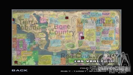 G-Soldier LSRP Detailed Map Radar для GTA San Andreas