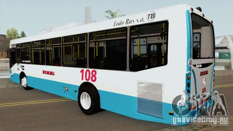 Todobus Pompeya II Agrale MT15 Linea 108 Interno для GTA San Andreas