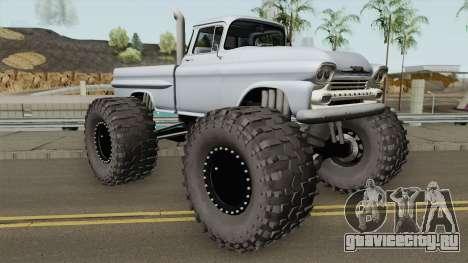 Chevrolet Apache Monster Truck 1958 для GTA San Andreas