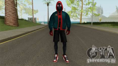 Marvel Future Fight Miles Into The Spider-Verse для GTA San Andreas