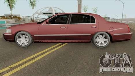 Lincoln Town Car (SA Style) 2011 для GTA San Andreas