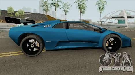 Lamborghini Diablo GT-R HQ 1999 для GTA San Andreas