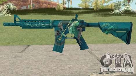 CS-GO M4A4 Poseidon для GTA San Andreas