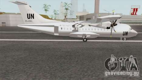 ATR 42-500 United Nations для GTA San Andreas