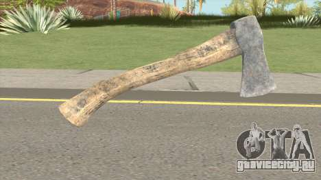 Hatchet From Resident Evil 7 для GTA San Andreas