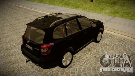 Subaru Forester 2014 XT для GTA San Andreas