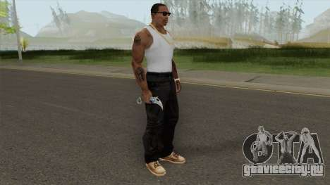 Knife (Monster Skin) для GTA San Andreas