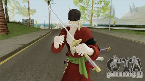 Roronoa Zoro V2 (One Piece Pirate Warrior 3) для GTA San Andreas