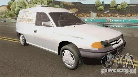 Opel Astra F Funeral Service для GTA San Andreas