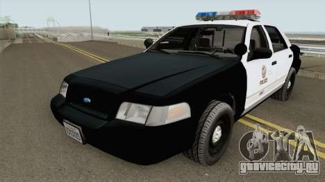 Ford Crown Victoria LAPD 2003 для GTA San Andreas