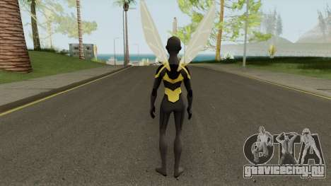 Bumblebee From Young Justice V1 для GTA San Andreas