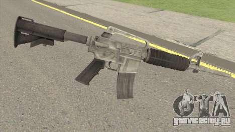 CS:GO M4A1 (Basilisk Skin) для GTA San Andreas