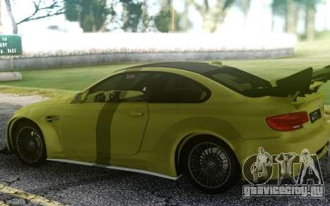 BMW M3 GTS для GTA San Andreas