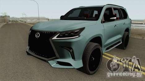 Lexus LX570 Black Edtion 2019 для GTA San Andreas