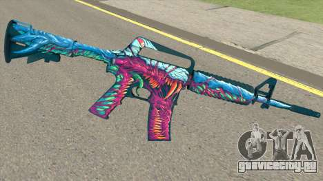 CS:GO M4A1 (Hyper Beast Skin) для GTA San Andreas