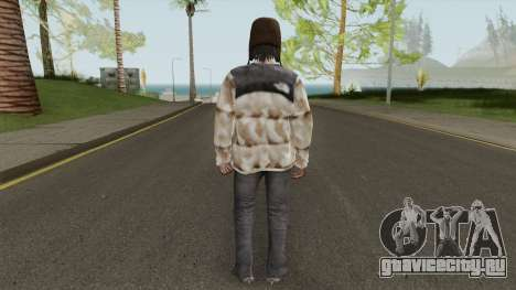 Skin Random 136 (Outfit North Face) для GTA San Andreas