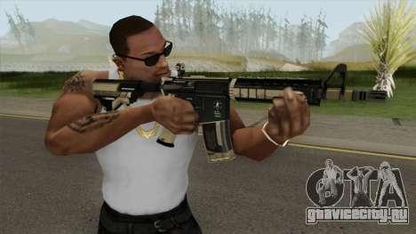 CS-GO M4A4 Desert Strike для GTA San Andreas