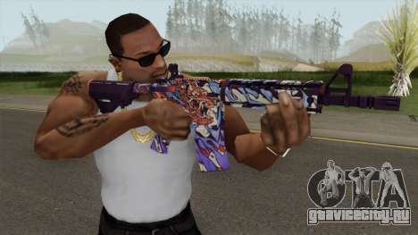 CS-GO M4A4 Dragon King для GTA San Andreas