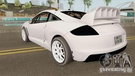 Mitsubishi Eclipse Clean JDM 2009 для GTA San Andreas
