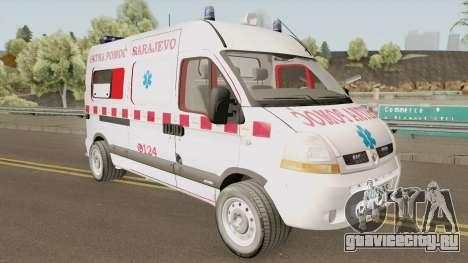 Renault Master Hitna Pomoc Ambulance Sarajevo для GTA San Andreas