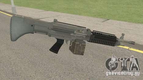 Combat MG (Default Mag) GTA V для GTA San Andreas
