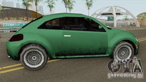 Volkswagen New Beetle 2012 (SA Style) для GTA San Andreas