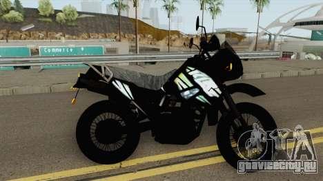 Kawasaki KLR 2014 для GTA San Andreas