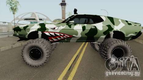 Ford Mustang Off Road Camo Shark 1971 для GTA San Andreas