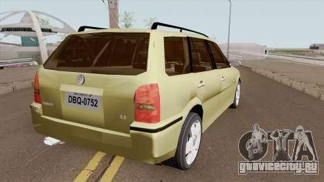 Volkswagen Parati G3 Tunable для GTA San Andreas