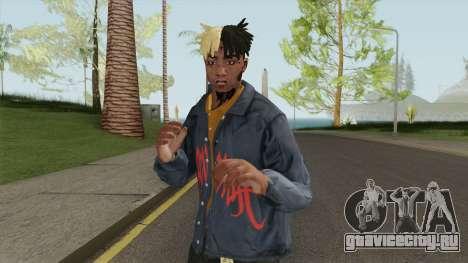 Skin Random 158 (Outfit XXXTentacion) для GTA San Andreas