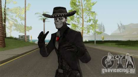 Erron Black (With Hat) From Mortal Kombat X для GTA San Andreas