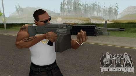 Combat MG (Extended Mag) GTA V для GTA San Andreas