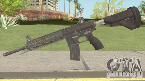HK-416 Assault Rifle V2 для GTA San Andreas