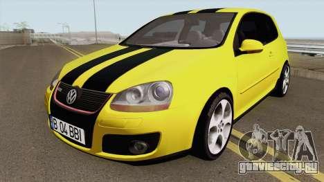 Volkswagen Golf 5 Baieti Buni для GTA San Andreas