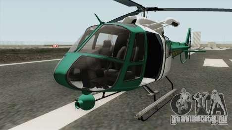 Los Santos County Sheriff Helicopter для GTA San Andreas