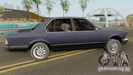 BMW 7 Series E23 для GTA San Andreas