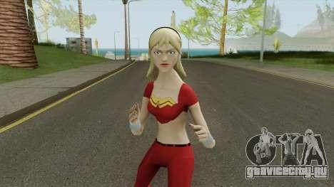 Wonder Girl Skin V2 для GTA San Andreas