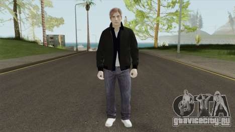 Leon S Kennedy From Resident Evil 2 Remake для GTA San Andreas