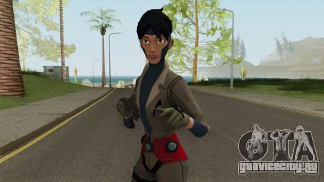 Rocket From Young Justice для GTA San Andreas