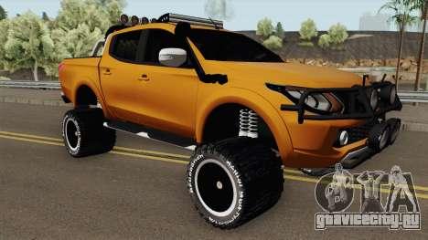 Mitsubishi L200 Off-Road для GTA San Andreas