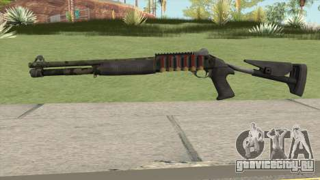 Benelli M4 SEALs Jungle Camo для GTA San Andreas